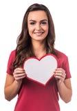 Celebrating Valentine's Day stock image