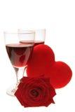 Celebrating Valentines Royalty Free Stock Photos