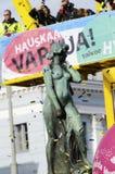 Celebrating Vappu (Walpurgis Night) in the center of Helsinki Ap Stock Photography