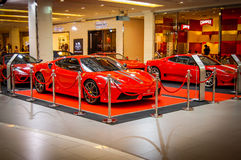 Celebrating 25 years of Ferrari in Thailand Royalty Free Stock Image