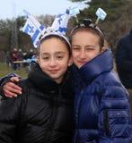 CelebratingThe zeventigste Verjaardag van Israël jpg Royalty-vrije Stock Afbeeldingen