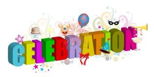 Celebration. Adobe illustrator file is available Royalty Free Stock Image