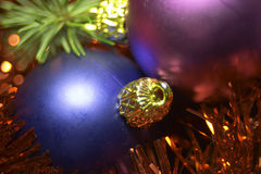 Celebration. Christmas decorations stock photos