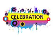 Celebration concept illustration Stock Photo