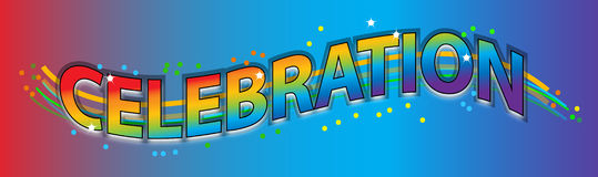 Celebration vector illustration