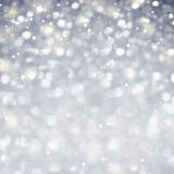 Celebration Abstract -  Glittering magic light and Stars Sparcle Stock Photography