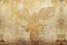 Celebration angel grunge Royalty Free Stock Photos