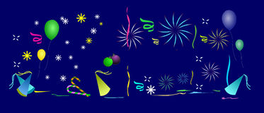 Celebration Background. Featuring party background elements stock illustration