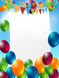 Celebration background Stock Photography