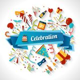 Celebration Background Illustration Stock Photo