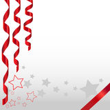 Celebration background with stars Royalty Free Stock Photography