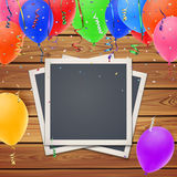 Celebration background,with vintage, retro photo Stock Photography