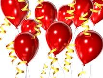 Celebration balloons Stock Photos