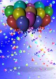 Celebration and balloons Stock Photo