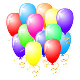 Celebration balloons Stock Photo