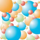 Celebration baloons background. Art Royalty Free Stock Image