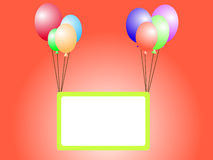 Celebration  banner Royalty Free Stock Images