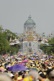 Celebration birthday of King Thailand Royalty Free Stock Photography