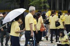 Celebration birthday of King Thailand Stock Image