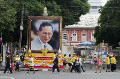 Celebration birthday of King Thailand Stock Images