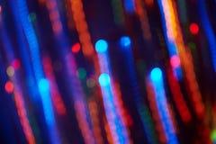 Celebration blurred background of the holiday illumination Royalty Free Stock Photo