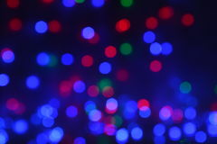 Celebration bokeh lights background Royalty Free Stock Photography