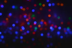 Celebration bokeh lights background Stock Photography