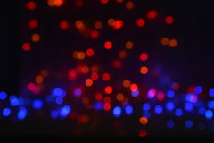 Celebration bokeh lights background Royalty Free Stock Image