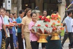 Celebration of Buddhist Novice Royalty Free Stock Photos