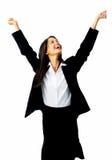 Celebration businesswoman Stock Images