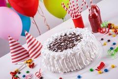 Celebration Cake With Decoration Royalty Free Stock Photos