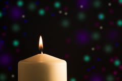 Celebration candlelight Stock Photography