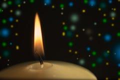 Celebration candlelight Stock Photo