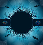 Celebration Card for Halloween Party Royalty Free Stock Images