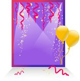 Celebration card Royalty Free Stock Photography