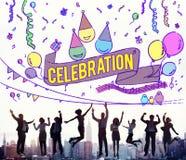 Celebration Celebrate Anniversary Event Social Concept Stock Images