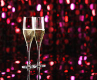Celebration With Champagne Stock Image