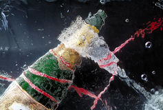 Celebration with champagne. Stock Images