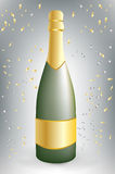 Celebration champagne bottle Stock Images