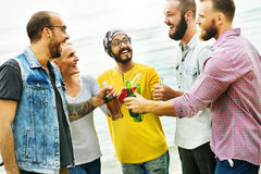 Celebration Cheers Hipster Drinking Together Friends Concept Royalty Free Stock Images