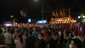 Celebration Chew Jetty`s Hokkien New Year with fireworks show.