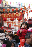 Celebration of Chinese New Year Royalty Free Stock Photo