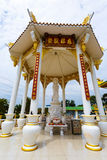 Celebration of the Chinese new year in the temple Saphan Hin Royalty Free Stock Photo