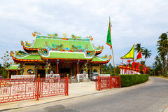 Celebration of the Chinese new year in the temple Saphan Hin Royalty Free Stock Photography