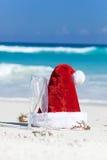 Celebration Christmas on tropical vacation Stock Photography