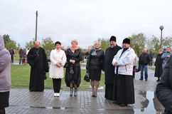 The celebration of city Day in Gomel (Belarus). Royalty Free Stock Photos