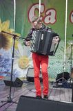 The celebration of city Day in Gomel (Belarus). Royalty Free Stock Photography