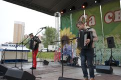 The celebration of city Day in Gomel (Belarus). Stock Photography