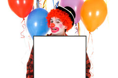 Celebration clown Royalty Free Stock Image