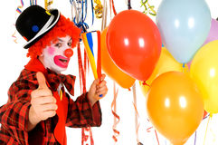 Celebration clown Stock Image
